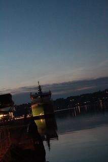 sunset, norway, 1am