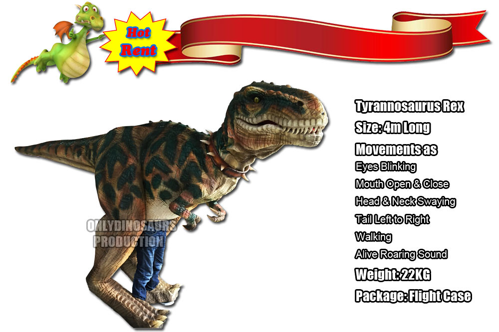 Rent T-Rex Costume
