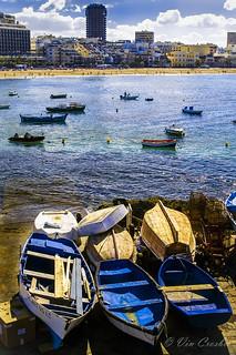 Palmas de Gran Canaria, Canary Islands, Spain, my wife's hometown.