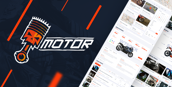 Motor v1.0 - Vehicles, Parts & Accessories Store - Responsive HTML5 eCommerce Template