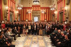 dj., 29/09/2016 - 17:44 - Ada Colau presideix l'acte de lliurament de medalles al mèrit de la Guàrdia Urbana