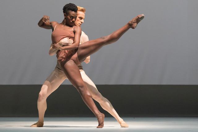 Rachael McLaren and Steven McRae in Chroma, The Royal Ballet © ROH 2016. Photography by Andrej Uspenski