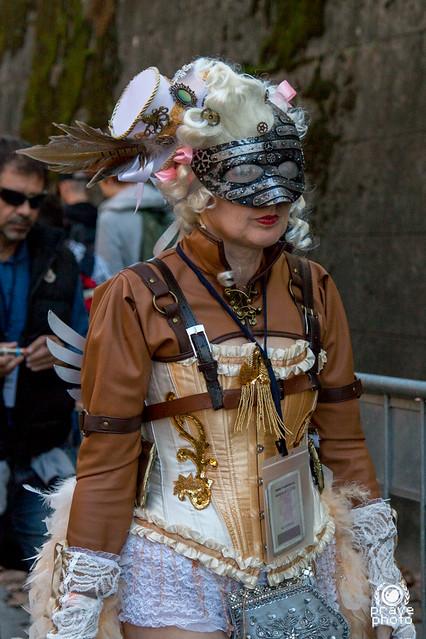 Steampunk dame