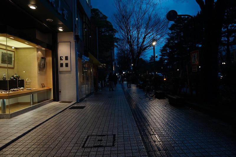 SONY EPZ 16-50 夜の街を撮る! その2