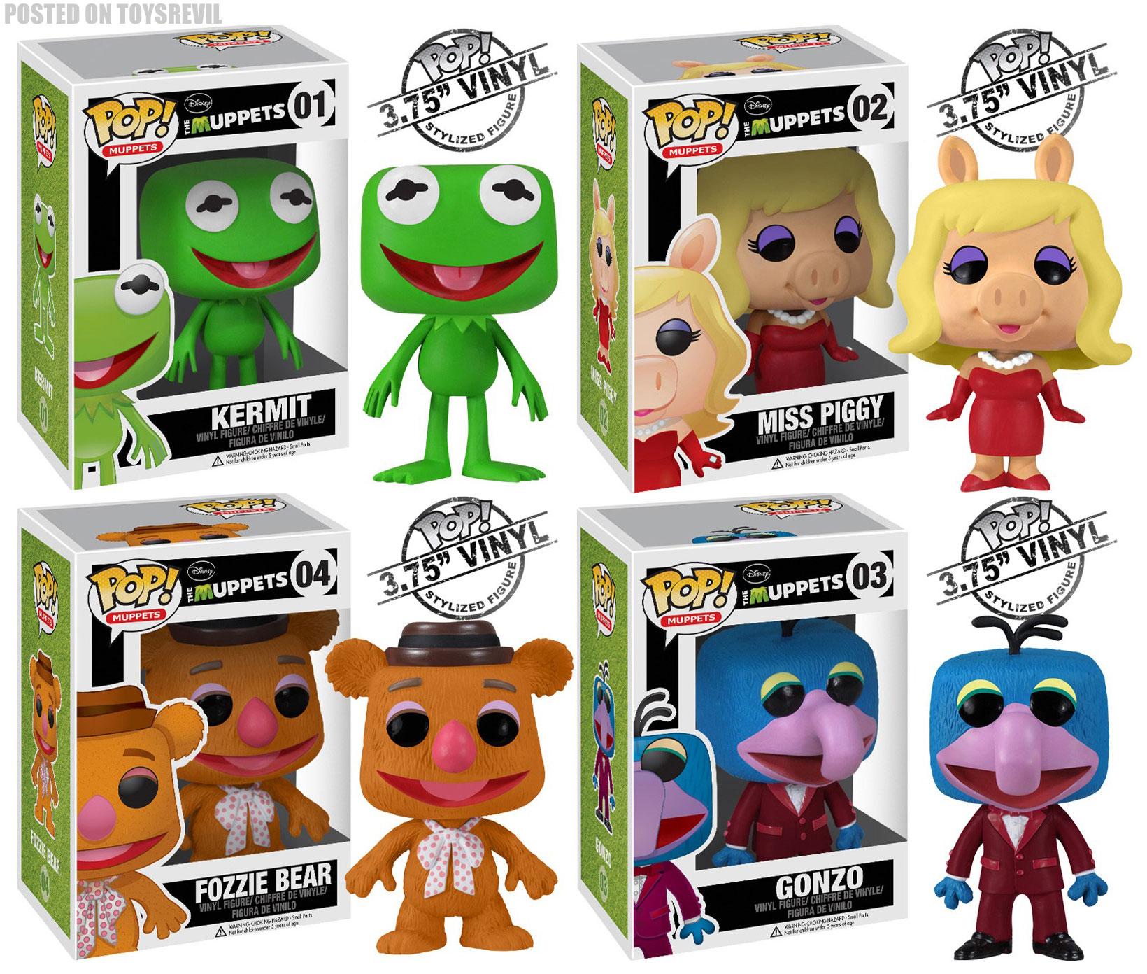 Pop Muppets From Funko