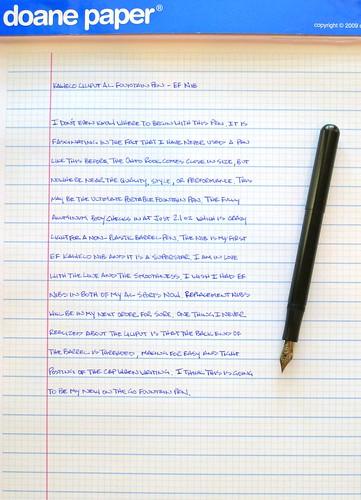 Kaweco Liliput Fountain Pen EF Nib