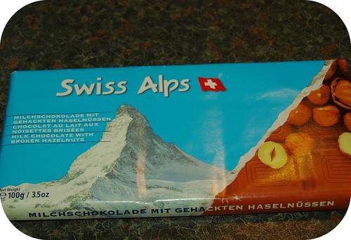 Swiss Alps Milk Chocolate with Hazelnuts