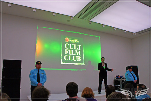 The Establishing Shot: Jameson Cult Film Club Ambassador Ciaran Down introduces the stars of Headhunters - Jameson Cult Film Club at the Saatchi Gallery by Craig Grobler