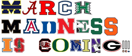 March Madness Ransom note