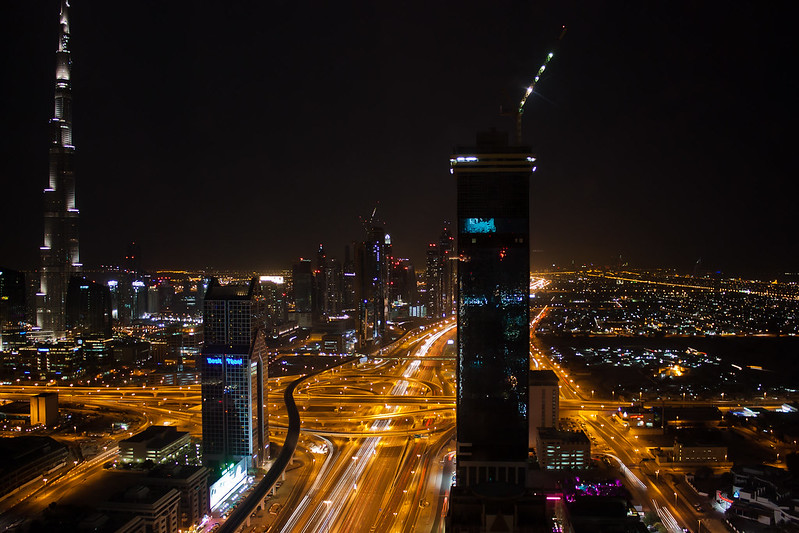 Dubai At Night (again)