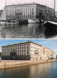 Gothenburg, Skeppsbron 1946 / 2012
