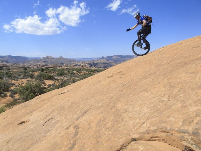 Mike on Moab Rim