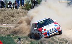 V Tramo cronometrado de tierra Loeches 2012 - Manuel Soriano/Francisco Martin - Citroen AX GT