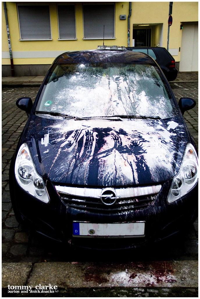 floured car