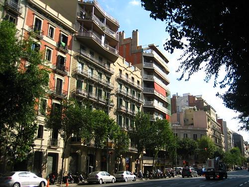Street L' Eixample Dreta