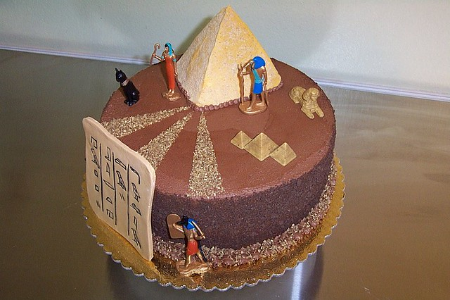 Egypt Birthday Cakes http://www.flickr.com/photos/35435866@N06/7143683883/