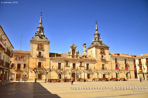 Plaza Mayor, El Burgo de Osma (Soria, Castilla y León)