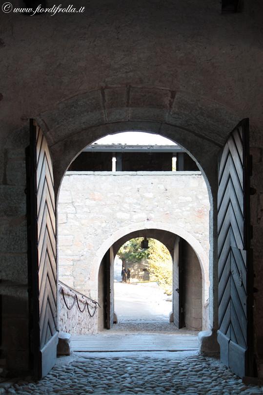 Castel Thun - Ingresso