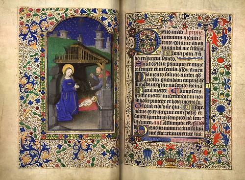 007-Natividad-Fol. 63 verso-Heures d'Isabeau de Roubaix- Bibliothèque numérique de Roubaix  MS 6