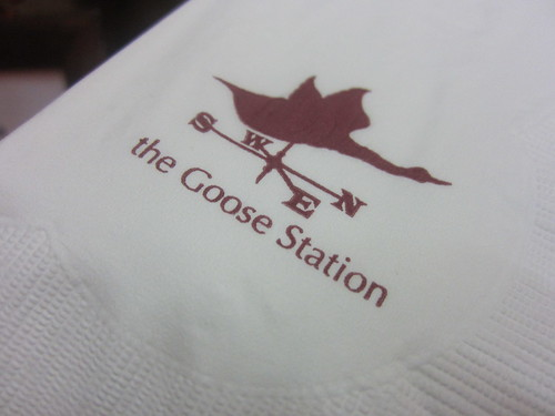 The Goose Station Signature Menu