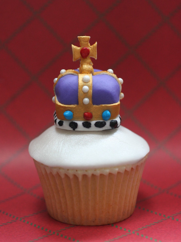 Royal Crown Jubilee Cupcakes