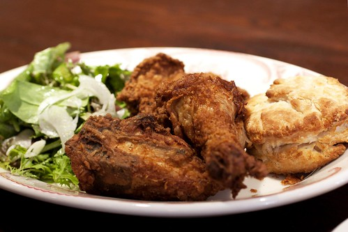 fried chicken @ bob white