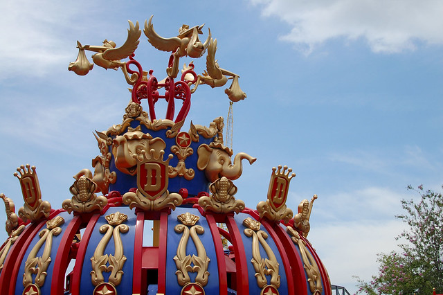 Dumbo ride.