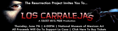 Join Us for Los Carralejas and support La Casa, Click here to buy tickets!