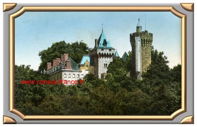 MONTCEAU-les-MINES Château du Plessy-70-150