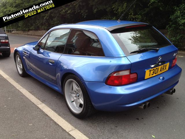 1999 M Coupe | Estoril Blue | Estoril/Black