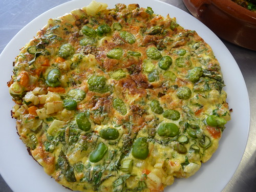 Broad Bean Frittata