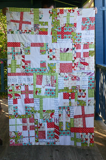 Cross Quilt Top