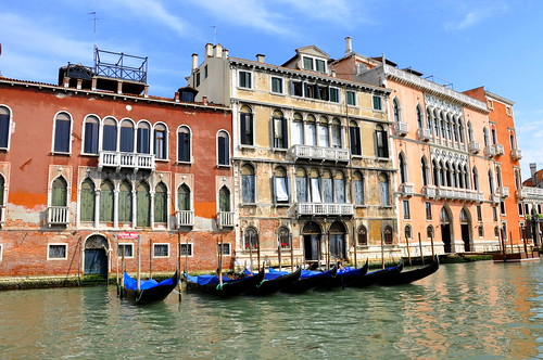 Houses along the Grand Canal