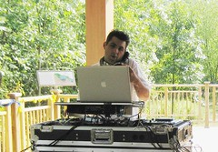 DJ on TRL Deck
