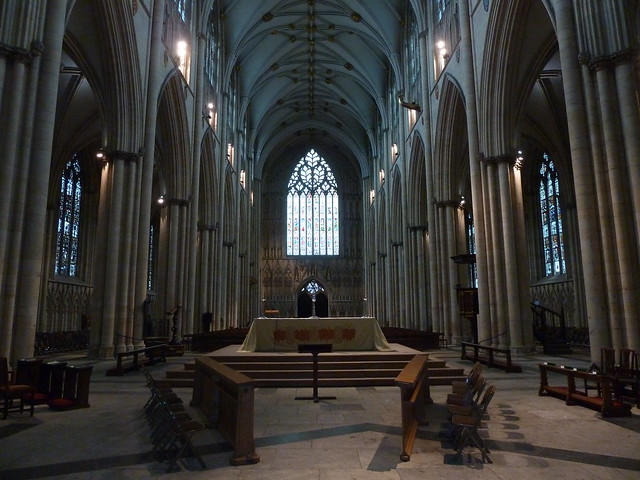 Inside York Minster, York