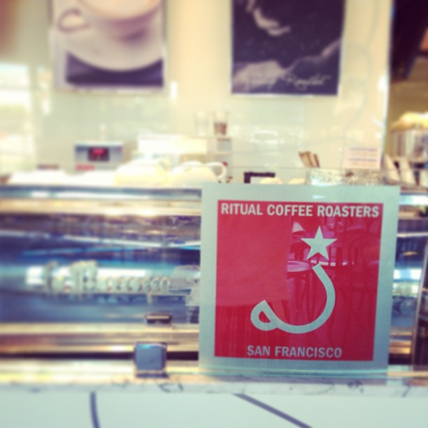 Ritual Coffee Roasters at Paris Baguette, Cupertino.