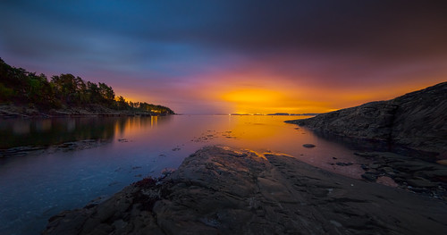 light sea sky panorama seascape color nature norway night clouds nikon illumination le citylights saturation getty archipelago d800 hurum 14mm samyang skjøttelvik