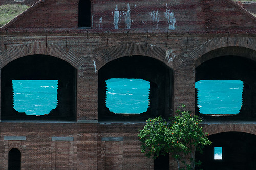 Fort Jefferson Windows (2013) Fort Jefferson, Dry Tortugas National Park, Florida