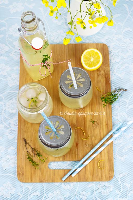 limonata al timo