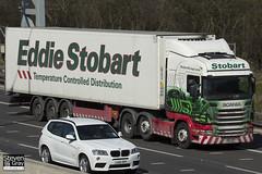 Scania R440 6x2 Tractor - PE11 WOJ - Ruby Grace - Eddie Stobart - M1 J10 Luton - Steven Gray - IMG_7779