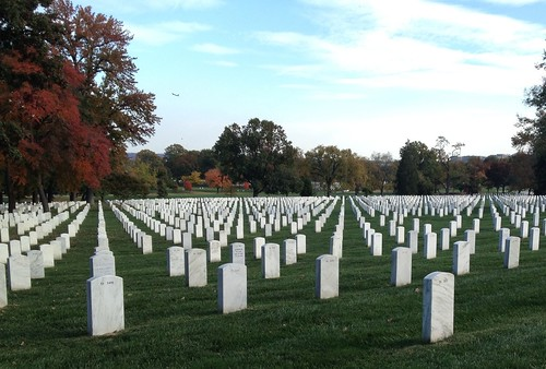 Arlington Cemetery Fall 2012