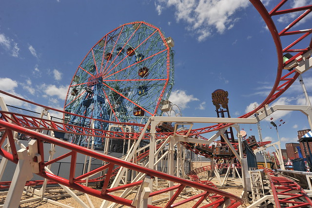Coney Island Rides Cincinnati Ohio