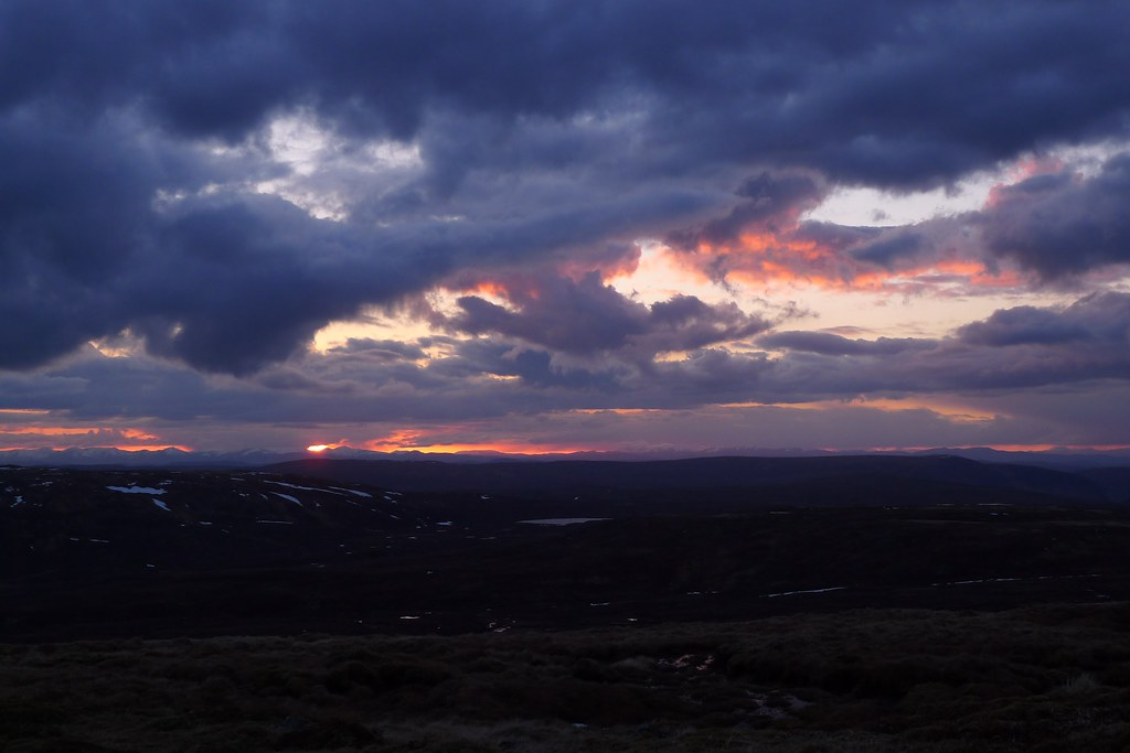 Sunset over the Northwest Highlands