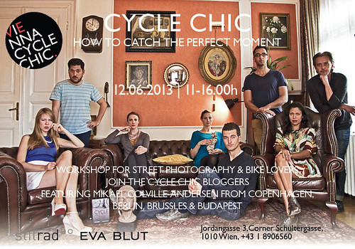 cycle chic - how to catch the perfect moment