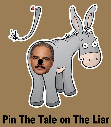 PIN THE TALE ON THE LIAR by WilliamBanzai7/Colonel Flick