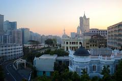 View from Hotel Guia roof, Macau