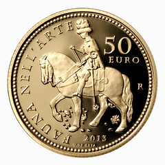 Italy 50 Euro Fauna obverse