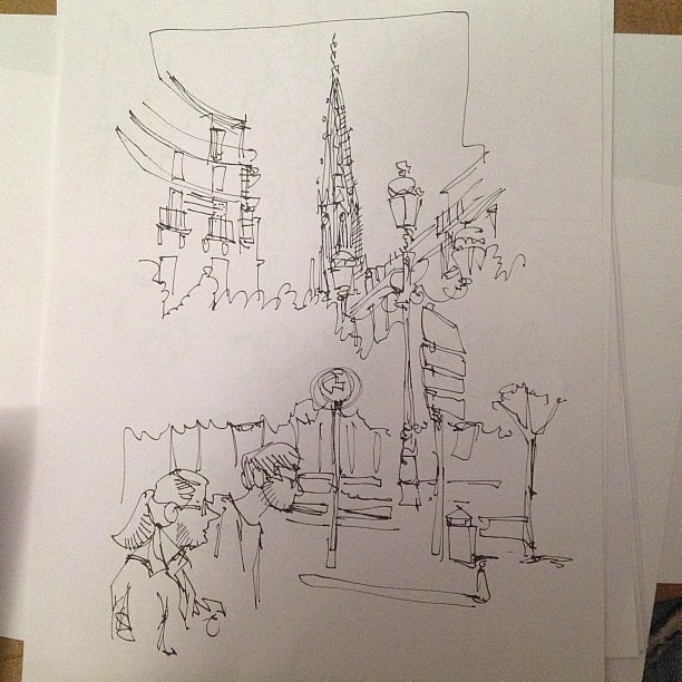 Donosti sketch 03