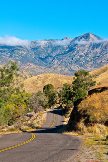 Along the Kern River Highway