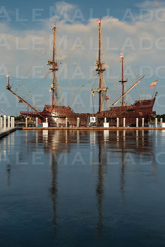 The Viva Florida 500 Galleon - Saint Augustine by Ale Mallado